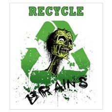 Recycle Brains Poster