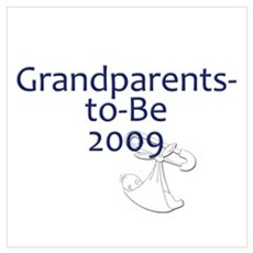 Grandparents-to-Be 2009 Canvas Art