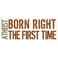 Atheist: Born right the first Poster
