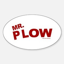 Mr Plow Decal