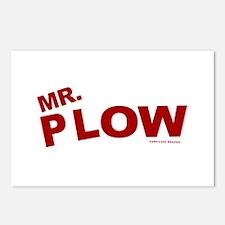 Mr Plow Postcards (Package of 8)