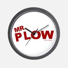 Mr Plow Wall Clock