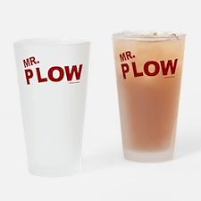Mr Plow Drinking Glass