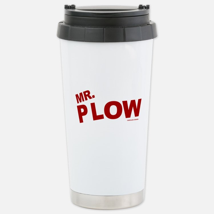Mr Plow Travel Mug