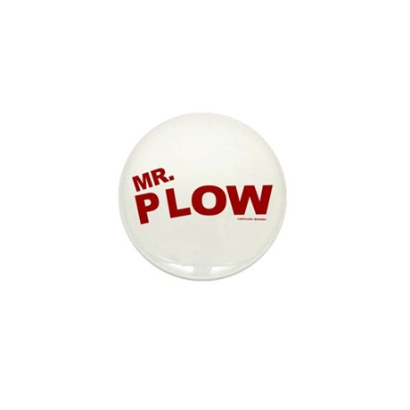 Mr Plow Mini Button