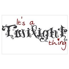 A Twilight Thing Poster