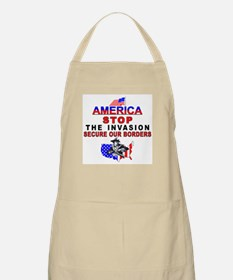 mx2 Stop The Invasion  BBQ Apron