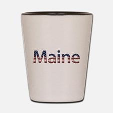 Maine Stars and Stripes Shot Glass