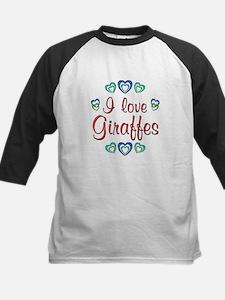 I Love Giraffes Tee