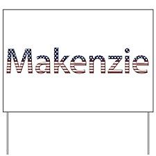 Makenzie Stars and Stripes Yard Sign