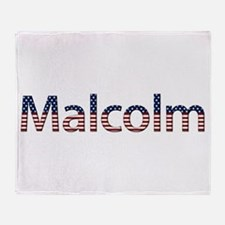 Malcolm Stars and Stripes Throw Blanket