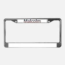 Malcolm Stars and Stripes License Plate Frame