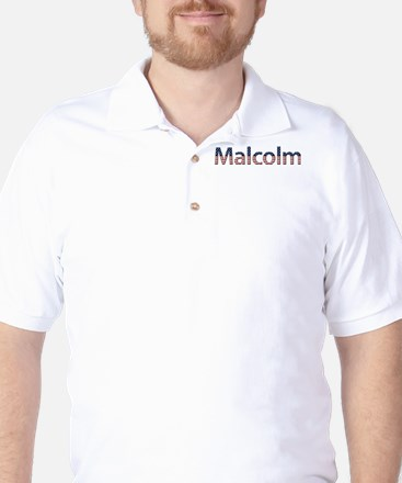 Malcolm Stars and Stripes Golf Shirt