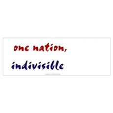 One Nation Indivisible Poster