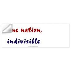 One Nation Indivisible Wall Decal