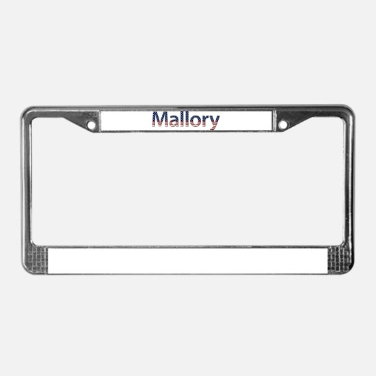 Mallory Stars and Stripes License Plate Frame