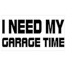 GARAGE TIME Poster