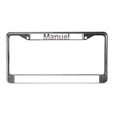 Manuel Stars and Stripes License Plate Frame