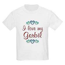 Love My Gerbil T-Shirt