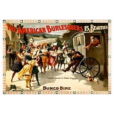 American Burlesquers Poster