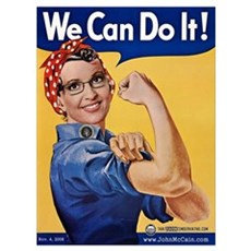 We Can Do It! Canvas Art