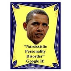 """Narcissistic Personality Disorder?"" Poster"