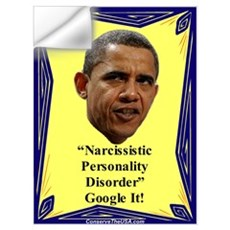 """Narcissistic Personality Disorder?"" Wall Decal"