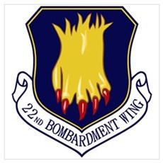 22nd Bomb Wing Poster