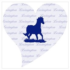Lexington Kentucky Horse Poster