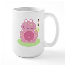 Fiona the pink Frog Mug