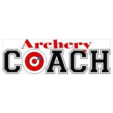 Archery Coach Poster