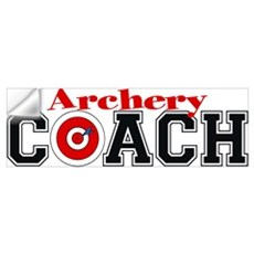 Archery Coach Wall Decal