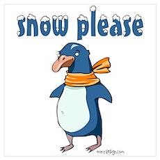 Snow Please Poster