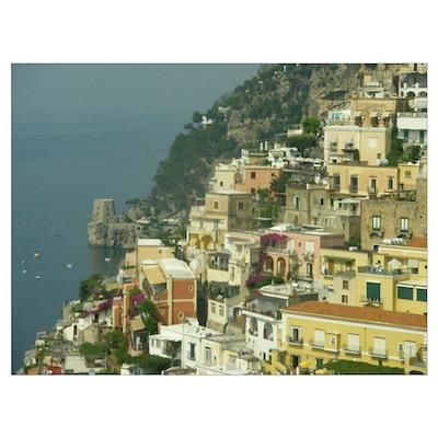 - The Amalfi Coast Poster