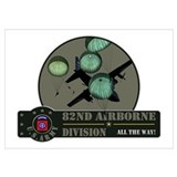 82nd airborne Wrapped Canvas Art