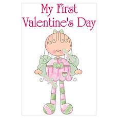 My 1st Valentine's Day Fairy Poster