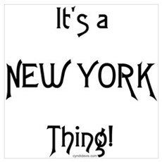 It's a New York Thing! Poster