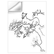 The Cat Wall Decal
