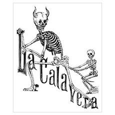 Calavera del Diablo Poster