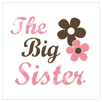 the big sister flower Canvas Art