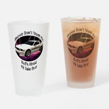 Ford Mustang GT Drinking Glass