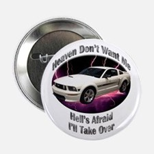 Ford Mustang GT 2.25 Inch Button (10 pack)