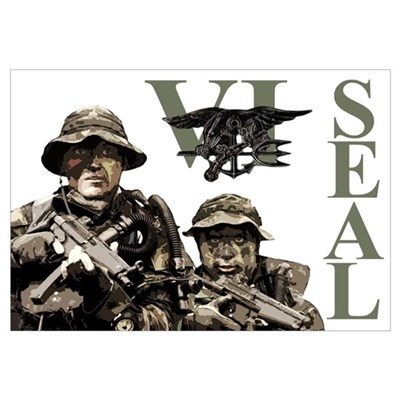 Seal Team VI Framed Print