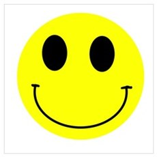 Happy Smiley Poster