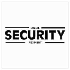 Social SECURITY Recipient Poster