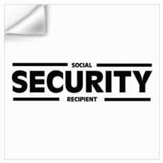 Social SECURITY Recipient Wall Decal