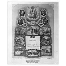 Locomotive Firemen Poster