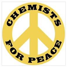 Chemists For Peace Framed Print