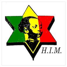 H.I.M. Haile Selassie I Poster