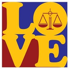 Law Love Poster